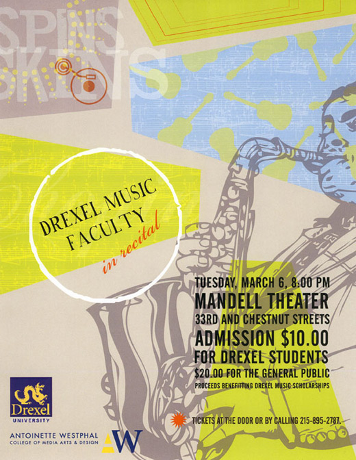 Faculty Recital Poster