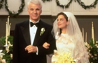 Still shot of Steve Martin in Father of the Bride