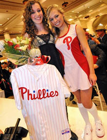 Image of Jessica and Ballgirl Emily in winning design