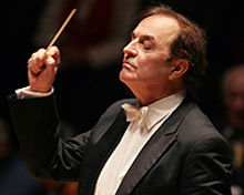 Photograph of Conductor Dutoit