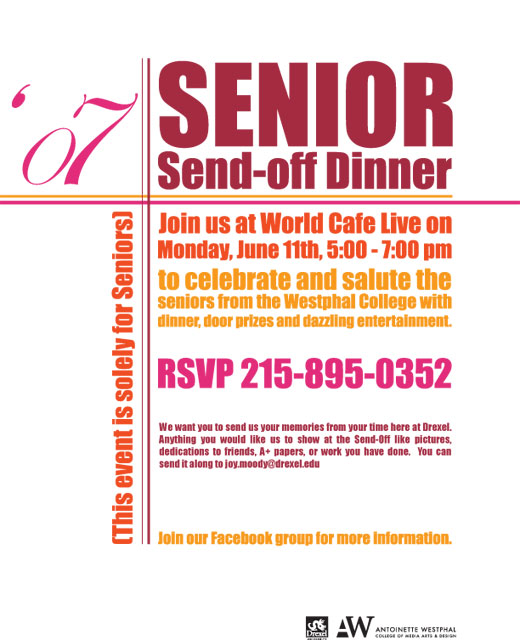 07 Senior Send-off Dinner