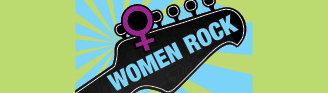 Women Rock guitar