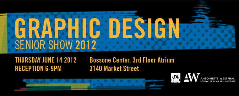 Graphic Design Senior Show 2012