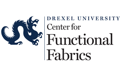 Logo for Drexel Univrsity Center for Functional Fabrics