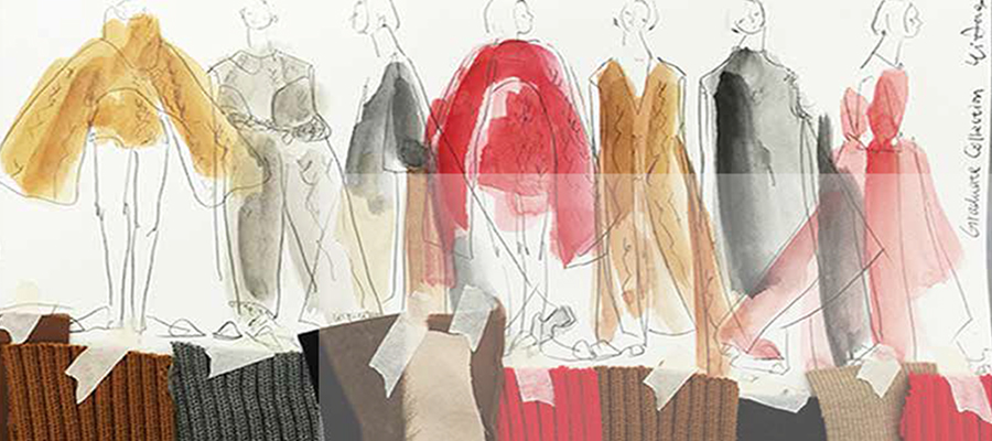 Yi Deng fashion illustration