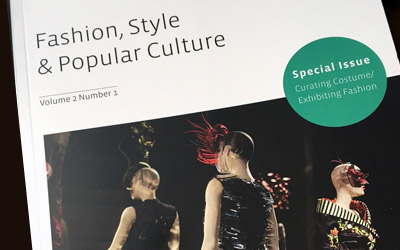 Fashion, style, and popular culture cover volume 2 number 1 special issue