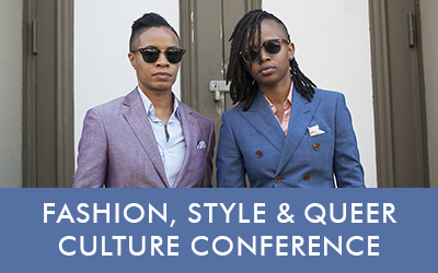 Fashion Style & Queer Culture Conference Button