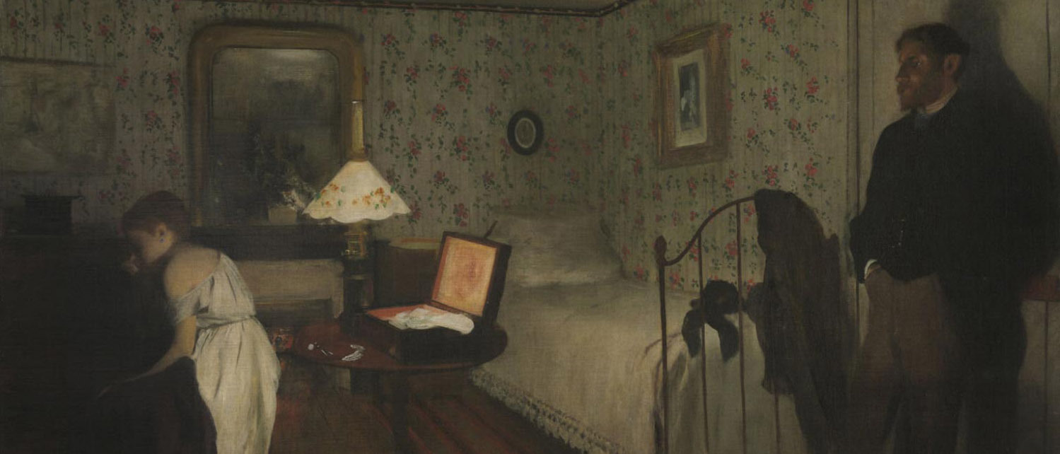 Interior by Edward Degas