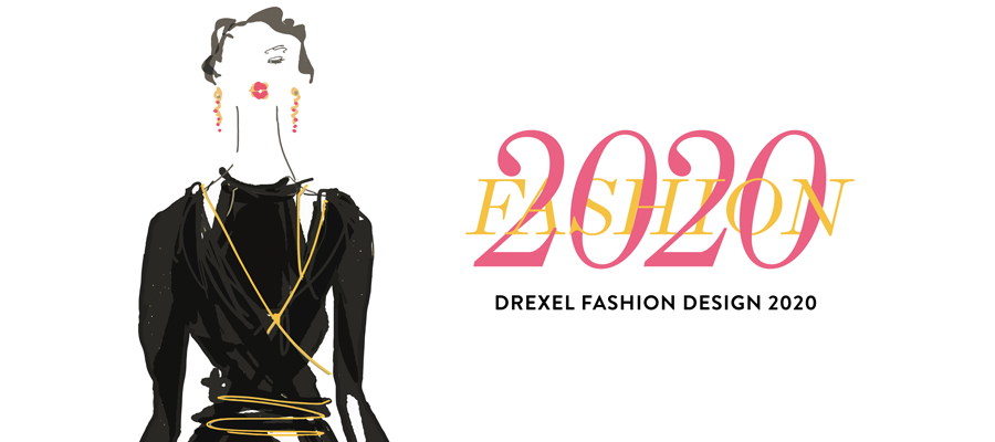 Drexel Fashion Design 2020 logo