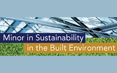 Minor in Sustainability in the Built Environment