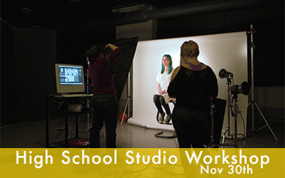 Fall Studio Workshop for High School Students