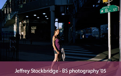 Jeffrey Stockbridge - BS photography '05