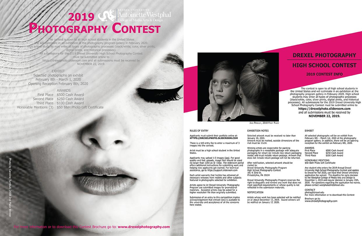Cecilia Rodriguez Calendario 2020.High School Contest Photography Drexel Westphal