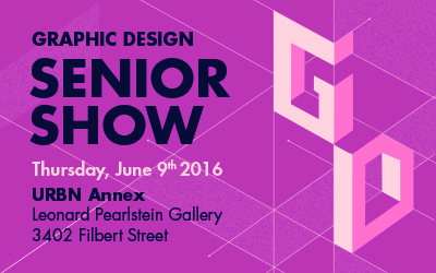 Graphic Design Senior Show