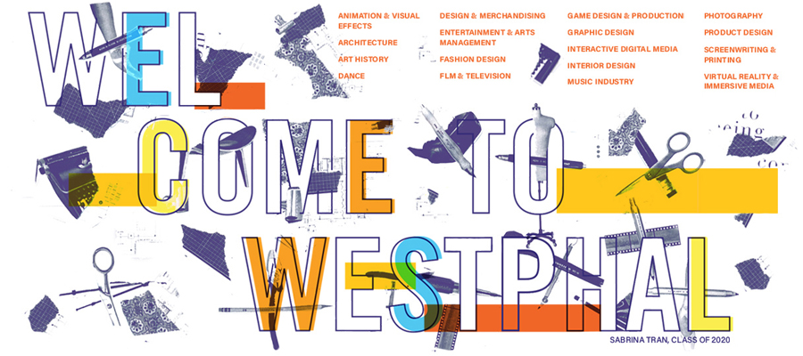 Welcome to Westphal graphic created by Sabrina Tran