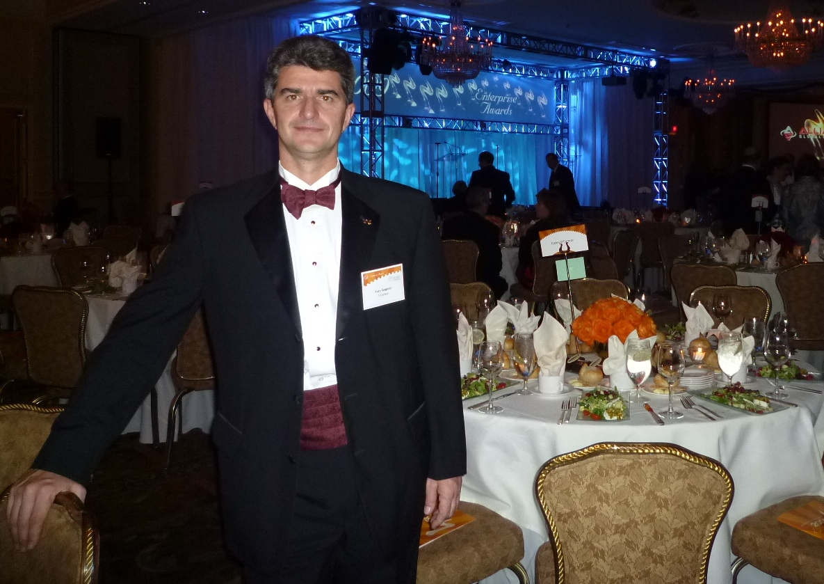 Gogotsi at the 2009 Enterprise Awards